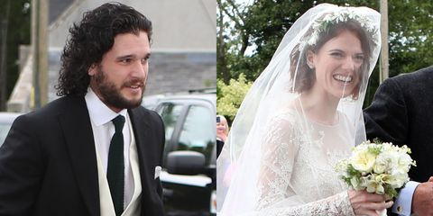 Kit harington and rose leslies wedding guests celebs at kit kit harington and rose leslie wedding pictures junglespirit Gallery