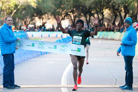 PRs and Records Aplenty at Sunday's Houston Marathon and Half