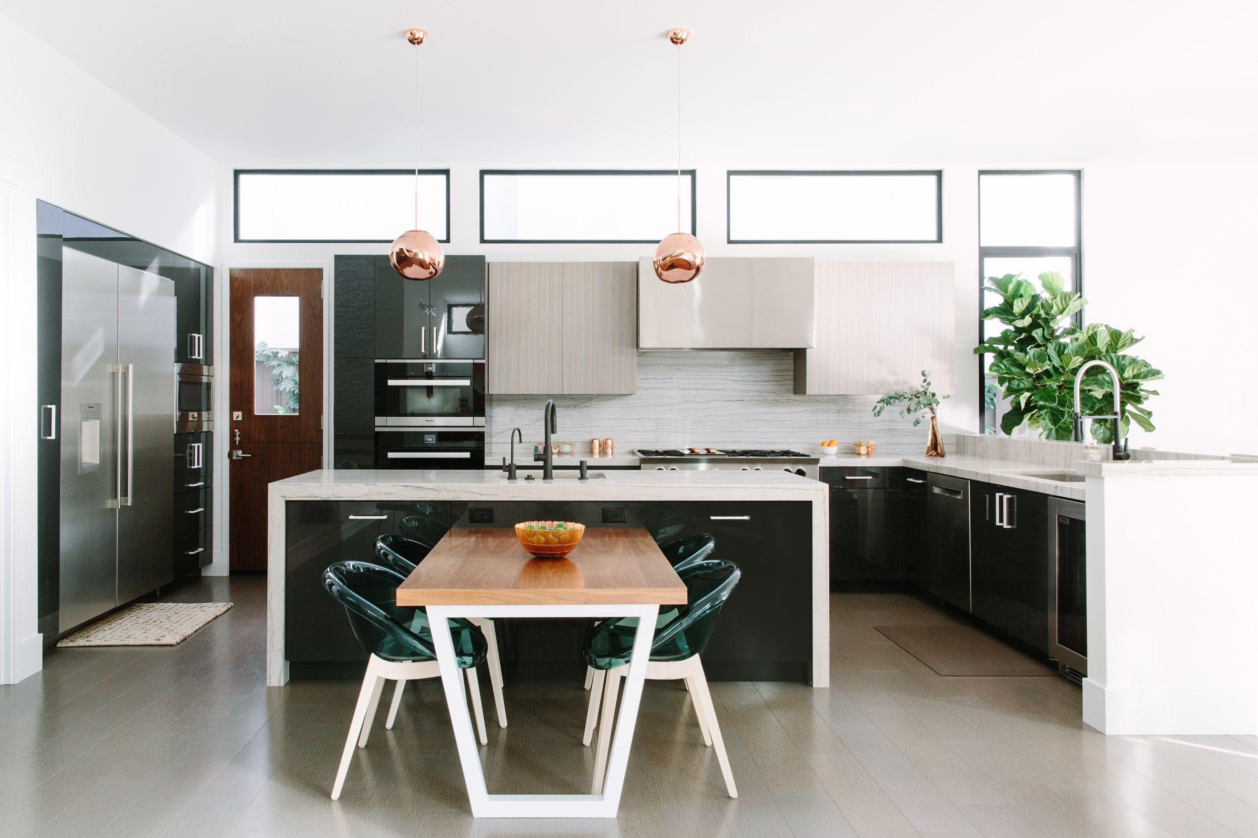 40 best kitchen lighting ideas modern light fixtures for home kitchens rh housebeautiful com