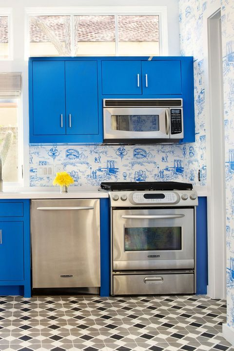 Best Small Kitchen Designs Design Ideas For Tiny Kitchens Adorable Blue Kitchen Designs