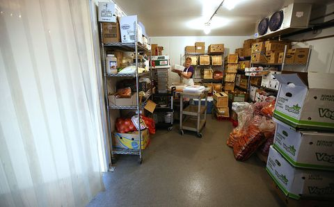 The Open Door Food Pantry in Gloucester, MA