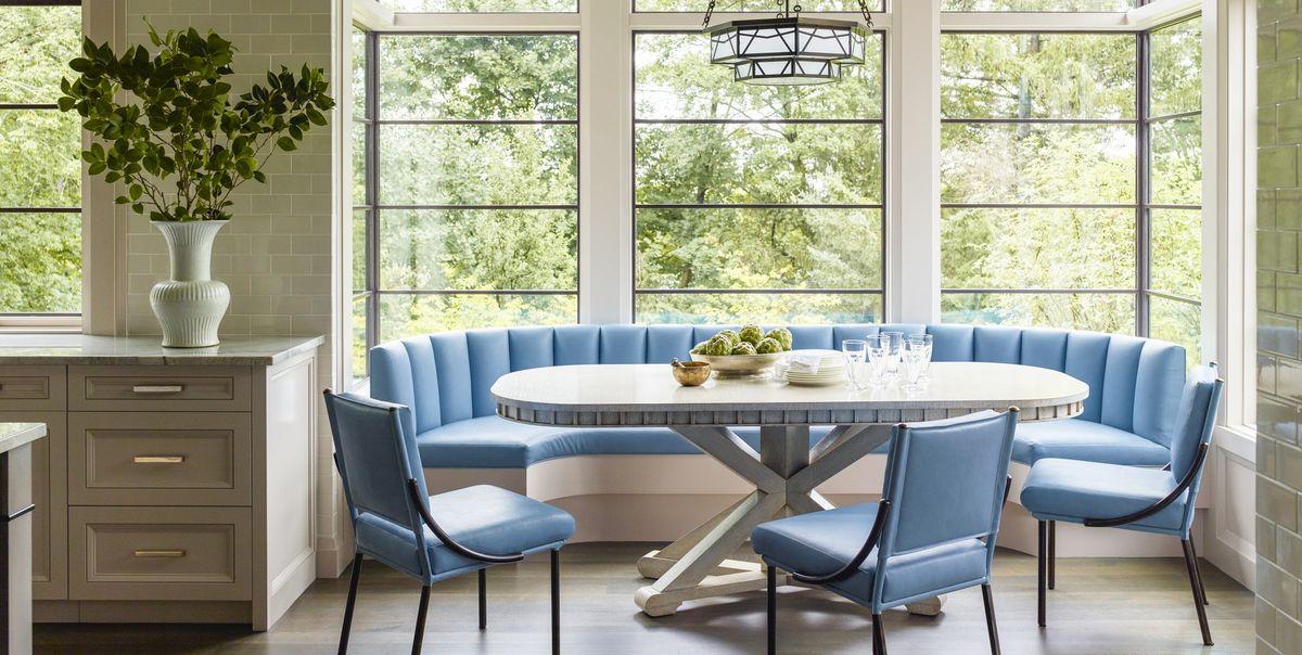 25 Charming Banquette Seating Ideas Gorgeous Kitchen Banquette Photos
