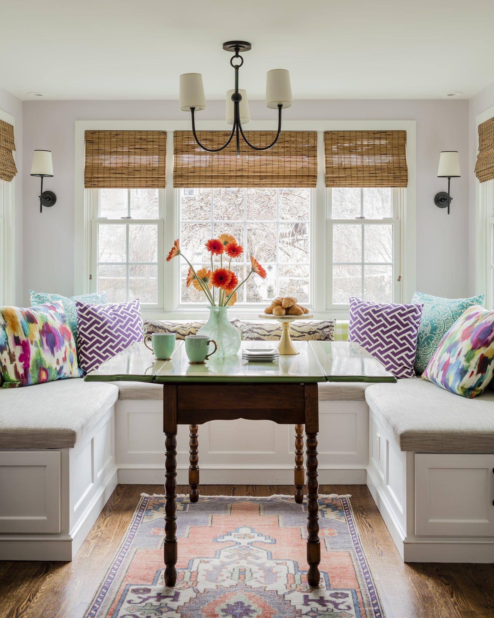25 Charming Kitchen Banquette Ideas - Gorgeous Banquette ...