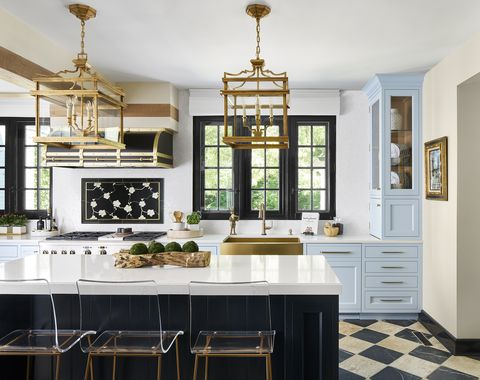 kitchen by the abl group and dovetail cabinetry for the 2020 lake forest showhouse