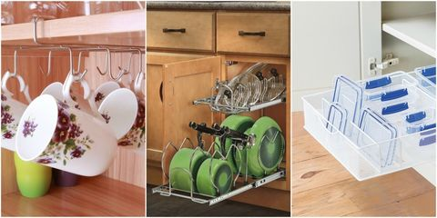 12 Kitchen Cabinet Organization Ideas - How to Organize ... on metal door ideas, metal tv stand ideas, metal bar ideas, antique kitchen ideas, metal grill ideas, metal bedframe ideas, metal wood cabinet ideas, metal bedroom ideas, doll ideas, metal furniture ideas, metal fireplace ideas, bedroom cabinet ideas, cedar chest ideas, metal tool box ideas, metal shower ideas, stainless steel kitchen decorating ideas, metal shoe rack ideas, metal closet ideas, metal fence ideas, maple kitchen cabinets ideas,