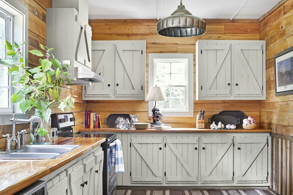 Here's How to Paint Kitchen Cabinets, Including Laminate