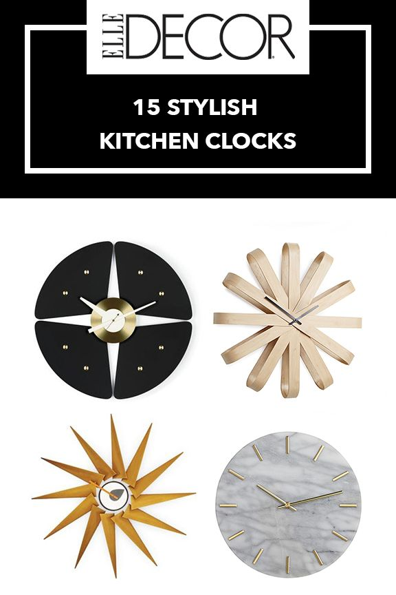 15 Best Kitchen Wall Clocks - Stylish Clock Ideas For Kitchens