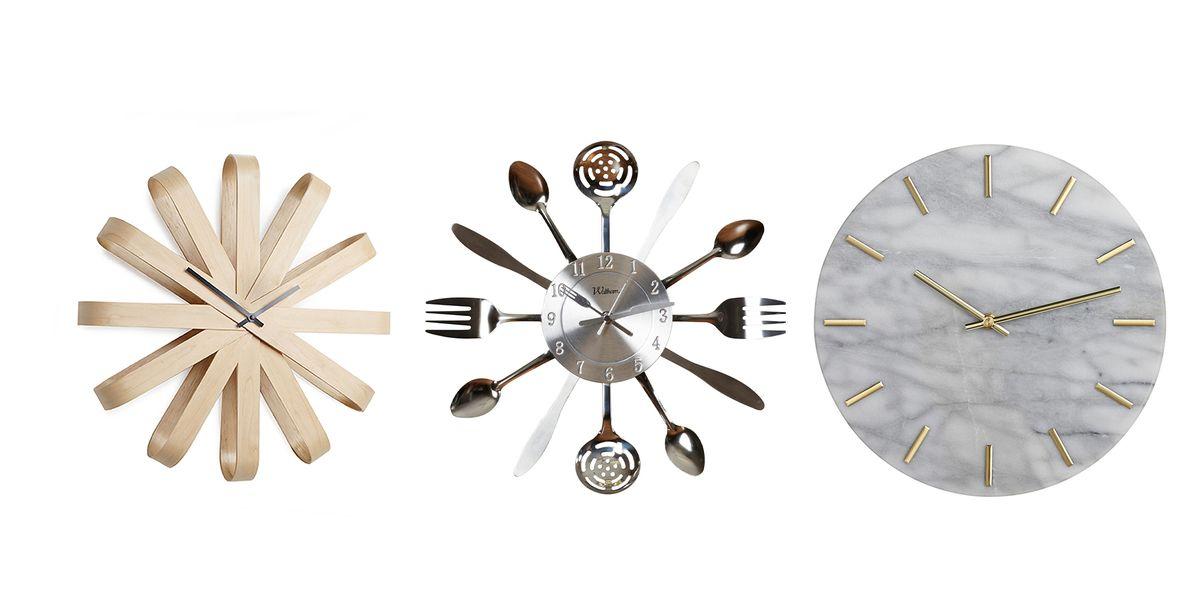 15 Best Kitchen Wall Clocks Stylish Clock Ideas For Kitchens
