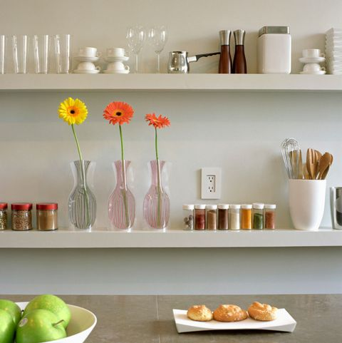 Kitchen By Purging All The Expired Items