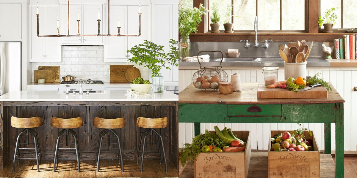 55+ Best Kitchen Island Ideas - Stylish Designs for ...