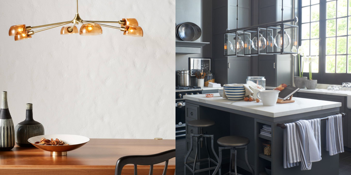 These Pendant Lights Will Upgrade Your Kitchen Island
