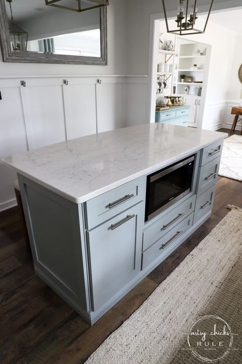 kitchen islands coastal