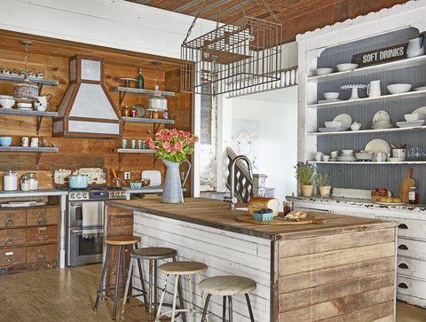 kitchen-lighting-ideas-wire-cage-vintage