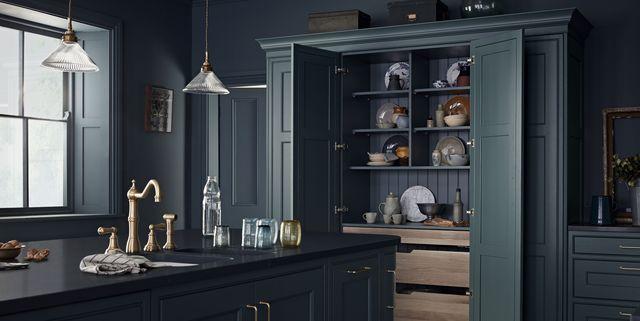 21 Pantry Ideas Larder Cupboard, Full Height Kitchen Corner Cupboards