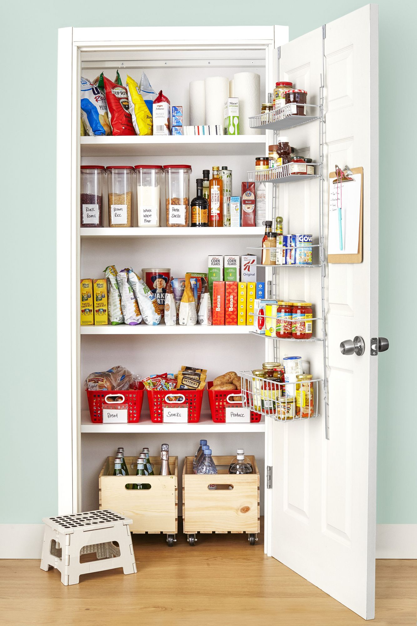 22 Kitchen Organization Ideas - Kitchen Organizing Tips and ... on handmade gifts for kitchen, organization ideas for entryway, organization ideas for work, organization ideas for desk, organization ideas for house, organization ideas for books, diy for kitchen, organization ideas for dishes, organization ideas for shoes, organization ideas for jewelry, organization ideas for closet, organization ideas home, organization ideas bathroom, embroidery for kitchen, colors for kitchen, organization ideas garage, organization ideas for baby, organization ideas for pantry, food for kitchen, organization ideas for countertop,