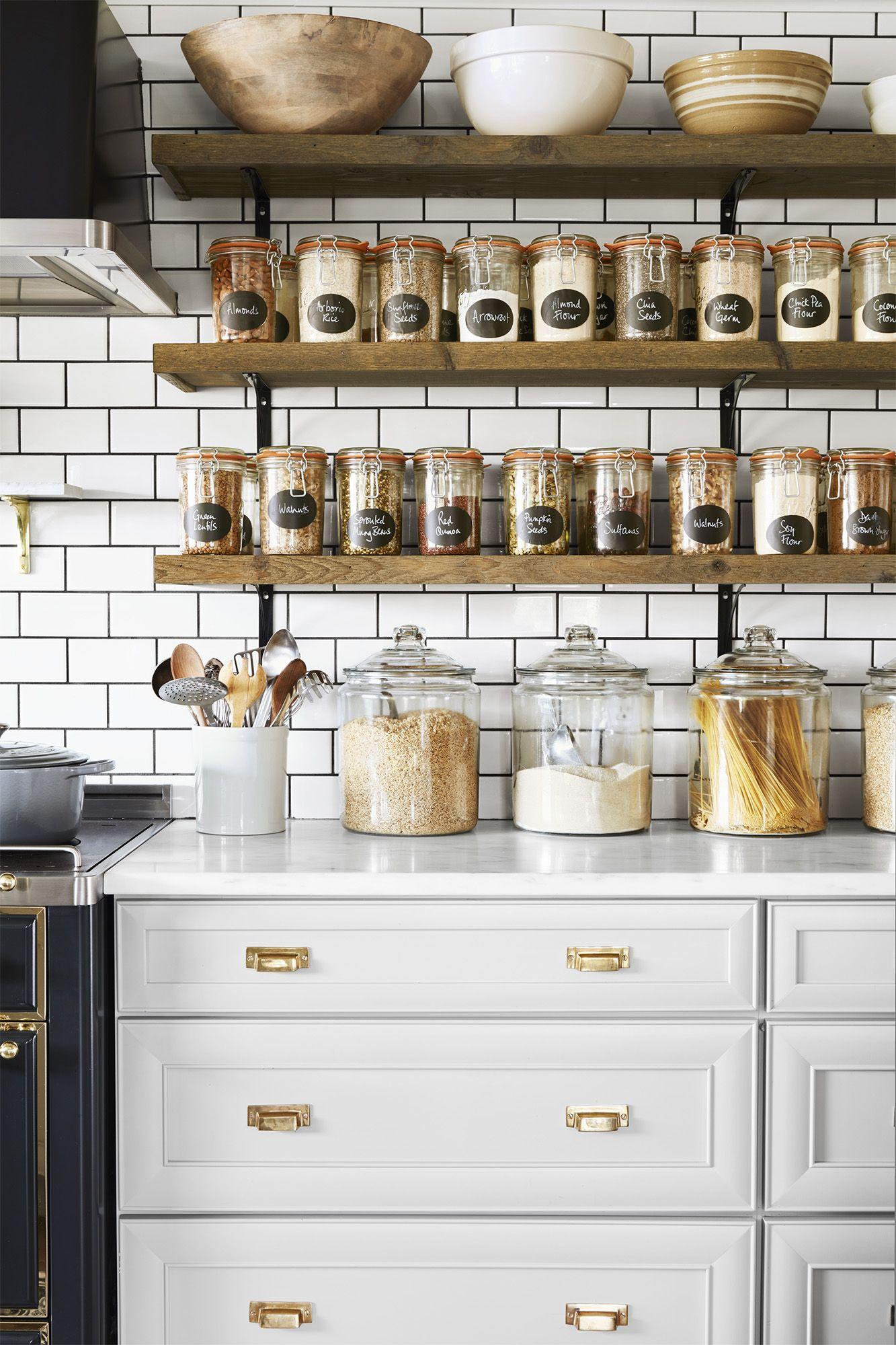 30 Kitchen Organization Ideas Kitchen Organizing Tips And Tricks