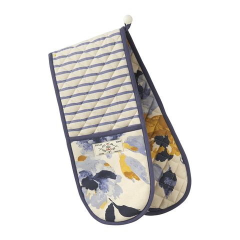 Joules printed oven glove