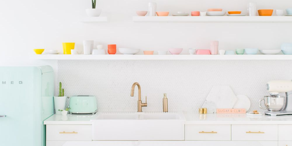 43 Small Kitchen Ideas That Won't Make You Feel Claustrophobic