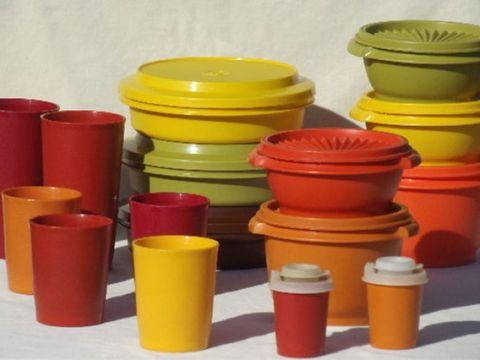Food storage containers, Yellow, Plastic, Lid, Orange, Tableware,