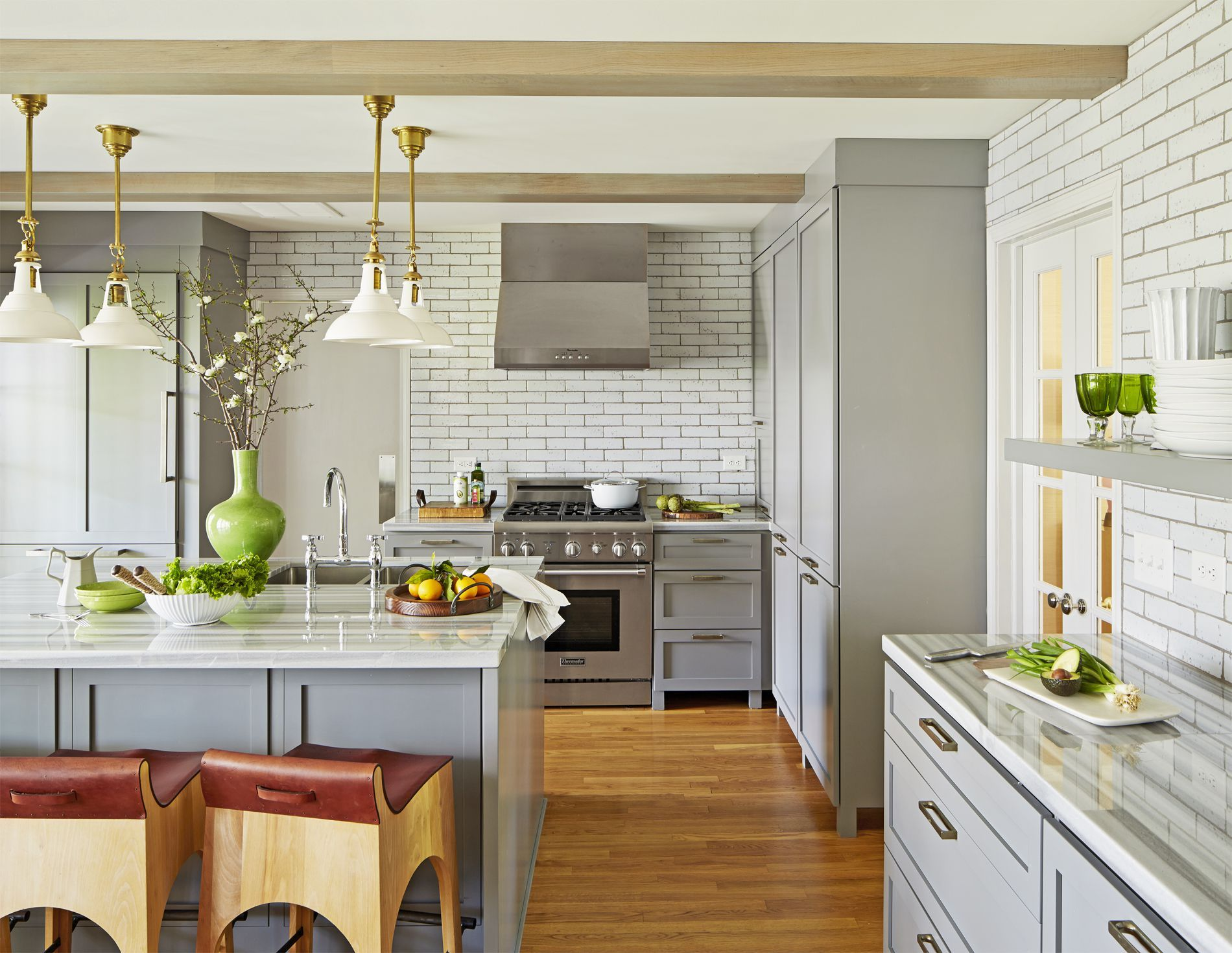 15 gorgeous kitchen trends for 2019 new cabinet and color design ideas rh countryliving com kitchen ideas 2019 budget new kitchen ideas 2019