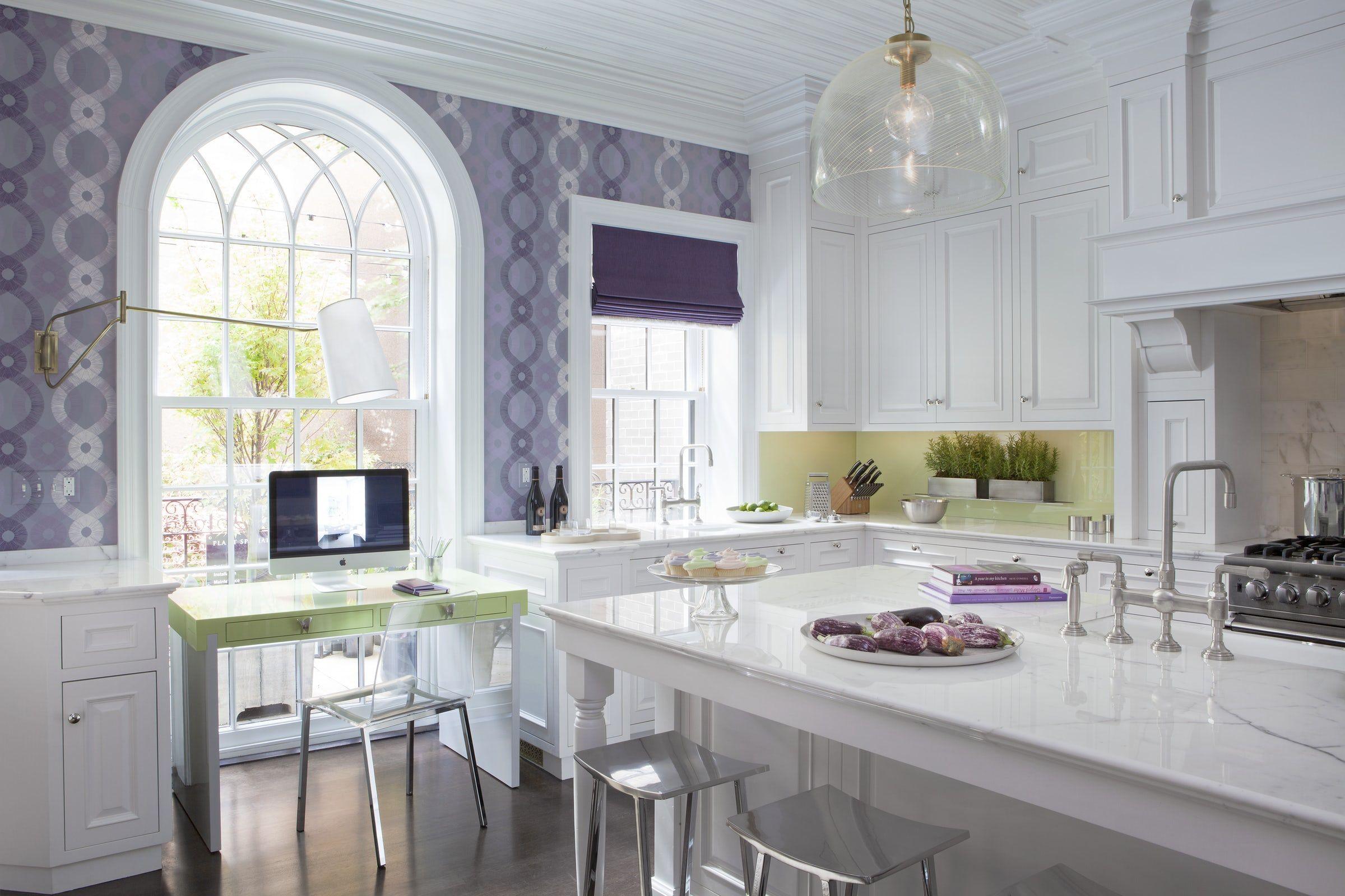 gorgeous kitchen wallpaper ideas best wallpaper for kitchen walls rh elledecor com