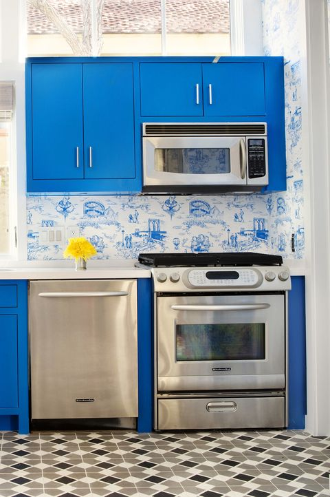 40 Blue Kitchen Ideas - ly Ways to Use Blue Cabinets and Decor ... Ideas For Blue Kitchen on blue & white cottage kitchen, blue kitchen cart, blue and white kitchen, blue landscaping ideas, blue kitchen decor, blue gray kitchen, blue gifts ideas, blue living ideas, blue kitchen backsplash, blue kitchen hgtv smart home, blue kitchen walls, blue kitchen themes, blue kitchen cabinets, blue green kitchen, blue kitchen colors, blue kitchen countertops, blue kitchen appliances, blue painted kitchens, blue fashion ideas, blue country kitchen,