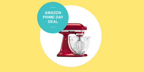 PRIME DAY DEAL: 48% Off KitchenAid's 5-Qt. Artisan Design Series Mixer