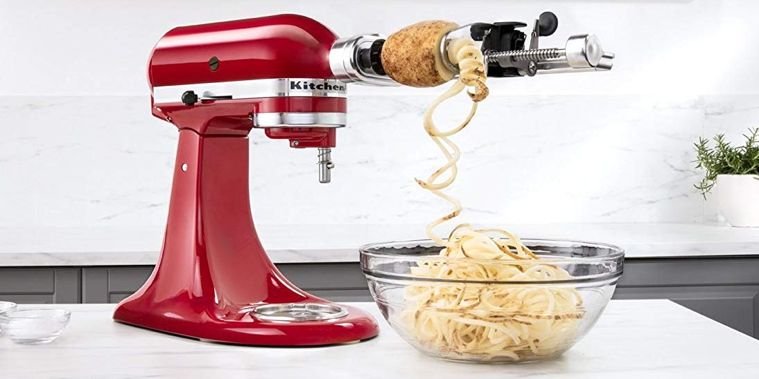 6 Kitchenaid Mixer Attachments That Make Cooking And