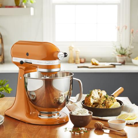 kitchenaid color for 2021 is honey, an orange
