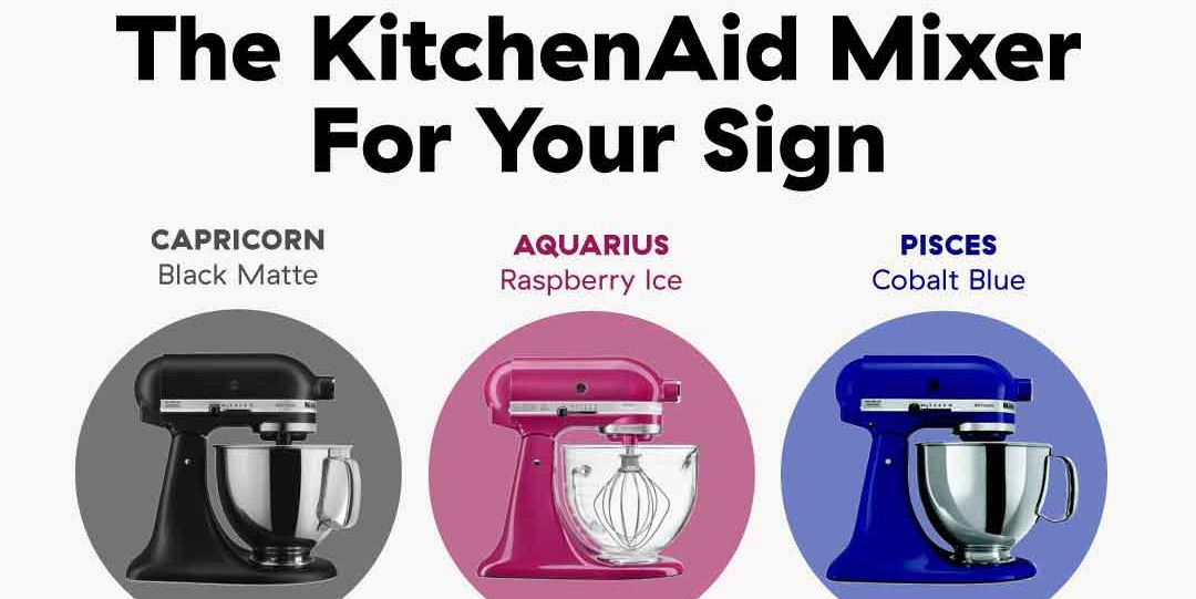 The Perfect KitchenAid Stand Mixer Color For You, Based On ...