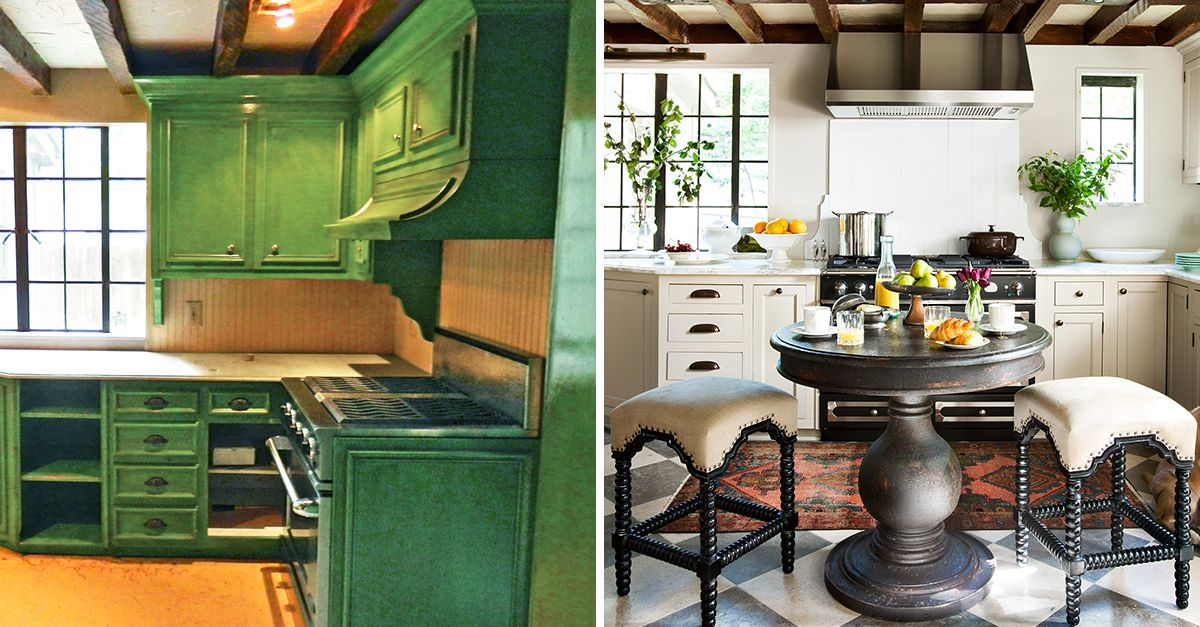 20 Kitchen Makeovers With Before and After Photos - Best ...