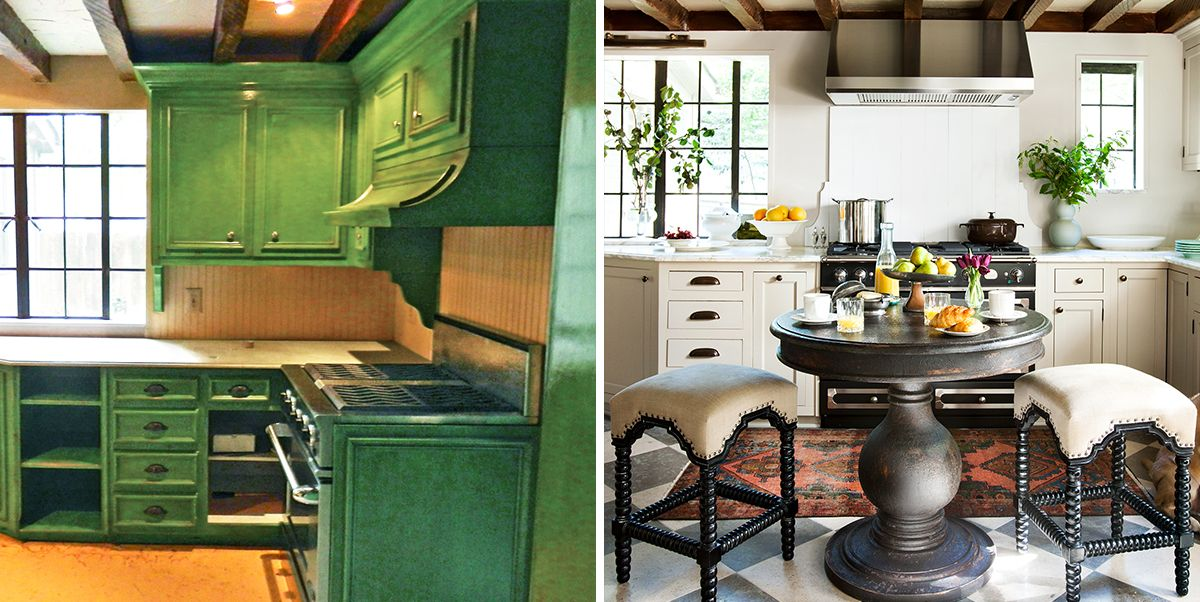 20 Kitchen Makeovers With Before And After Photos Best Kitchen Transformations Ever
