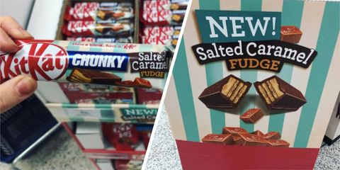 KitKat Chunky Salted Caramel Fudge flavour is coming