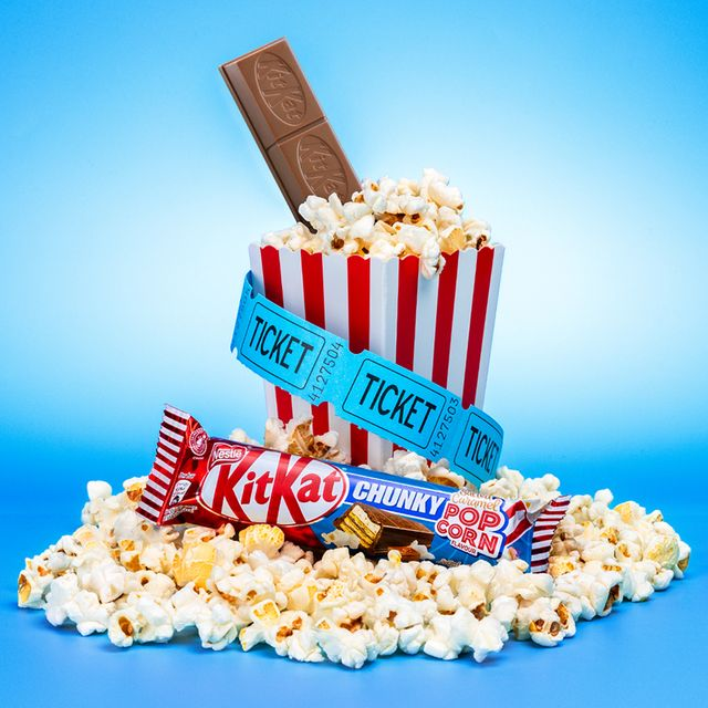 kitkat chunky bars now come in salted popcorn flavour