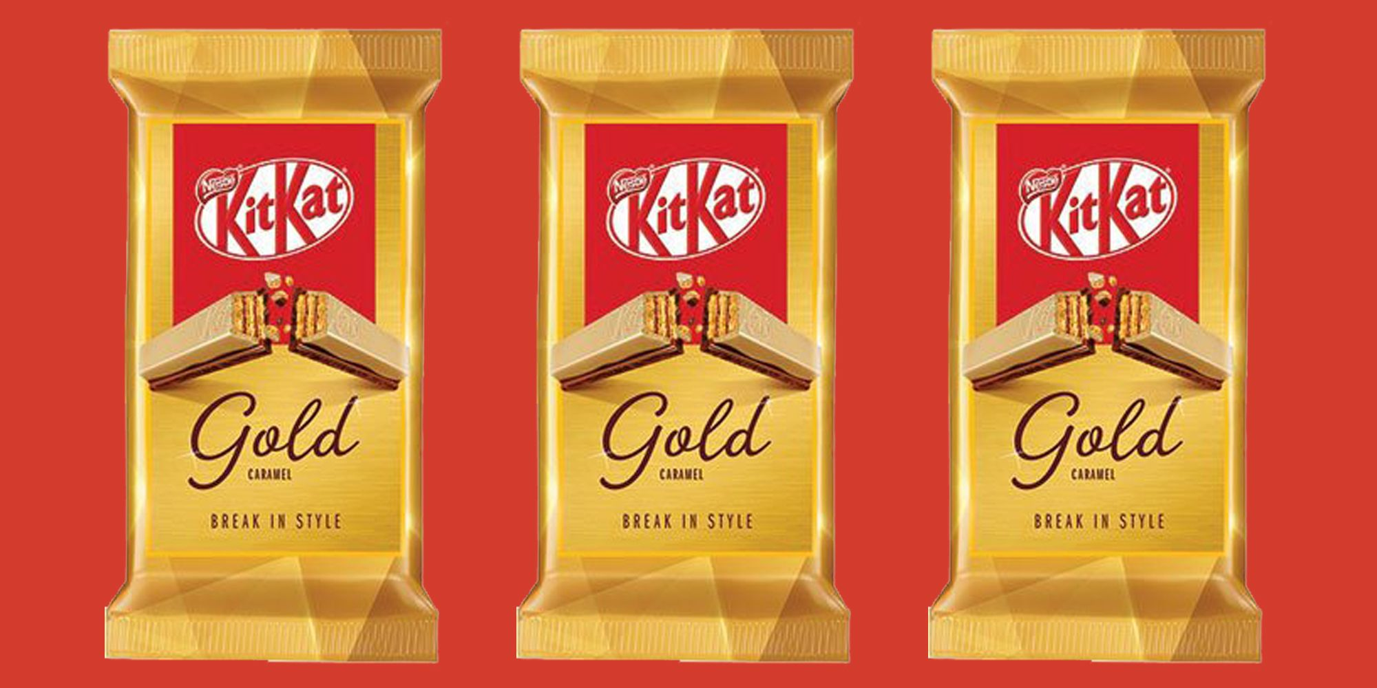 KitKat Gold Is Launching In The UK Next Month And We Can't Wait
