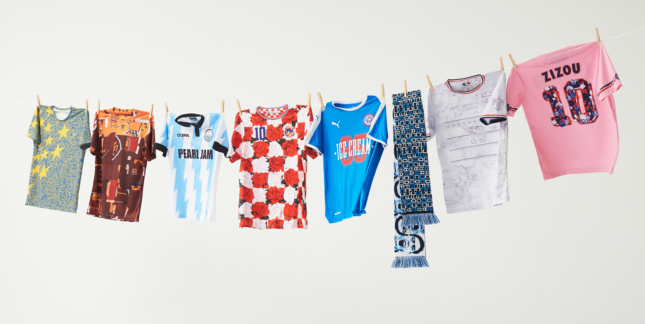 How Football Shirts Became A Canvas For Pop Art And Politics