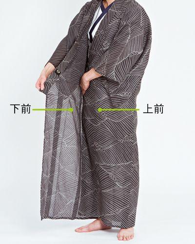 浴衣の着付け(男性編)