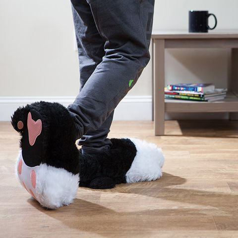 Twitchy Kitty Slippers