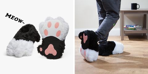Kitty Slippers Will Make Your Feet Look Like Cozy Cat Paws