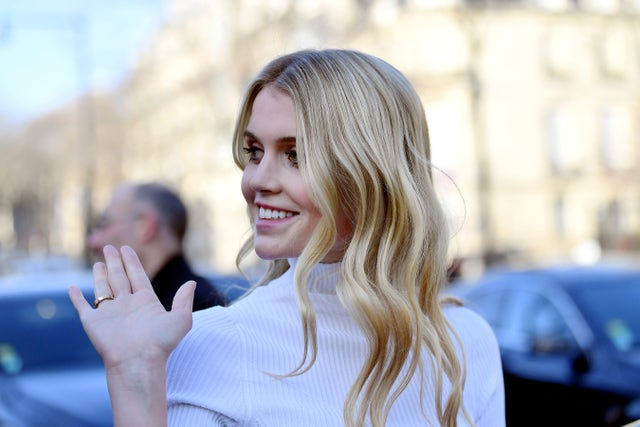 schiaparelli outside arrivals paris fashion week haute couture spring summer 2020