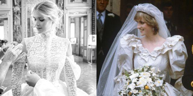 kitty spencer princess diana wedding dress