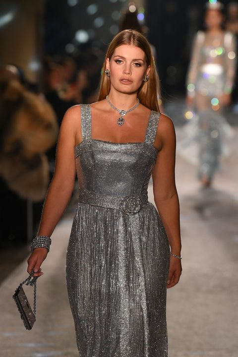 Princess Diana's Niece Walked Dolce and Gabbana