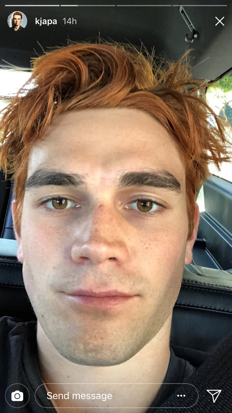 kj apa riverdale hair