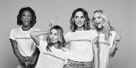 kledinglijn Spice Girls, mensonterend, kledinglijn, t-shirt, #iwannabeaspicegirl, iwannabeaspicegirl,