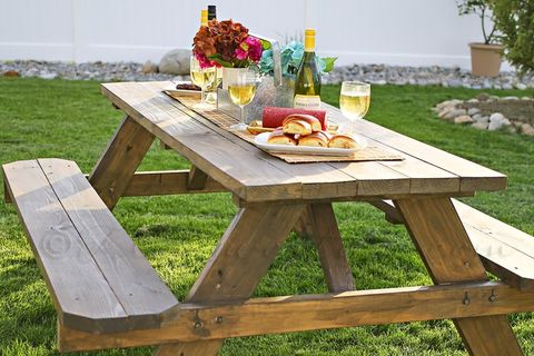 DIY picnic tables classic weatherproof picnic table