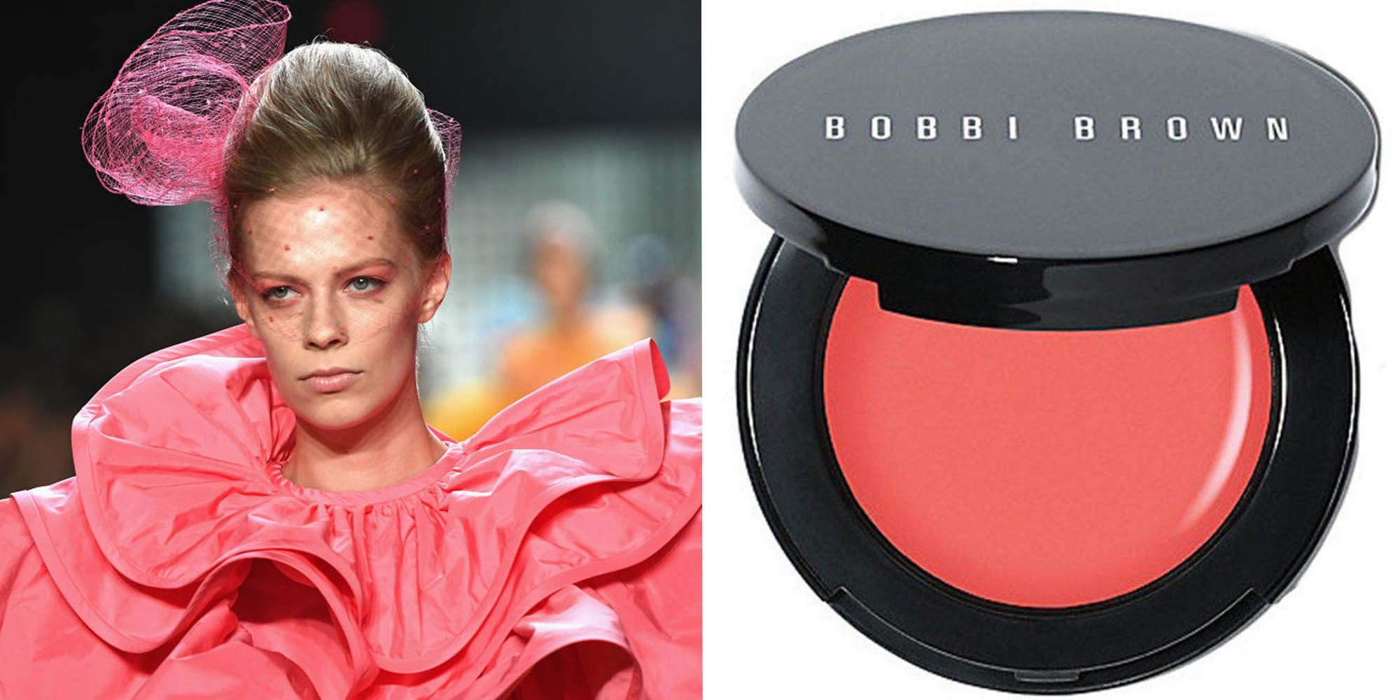 make-up, living coral, kleur van het jaar, 2019