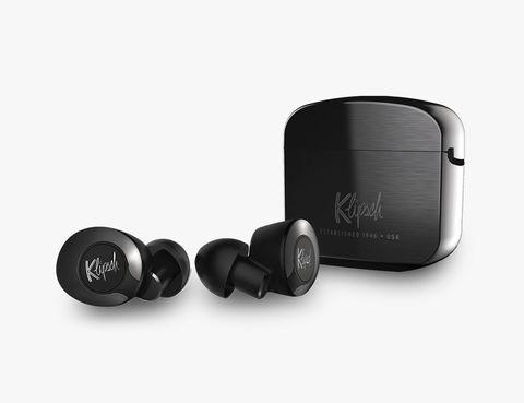 klipsch black earbuds