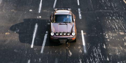 Land vehicle, Vehicle, Motor vehicle, Car, Asphalt, Mode of transport, Classic car, Automotive exterior, Automotive wheel system, Road surface,