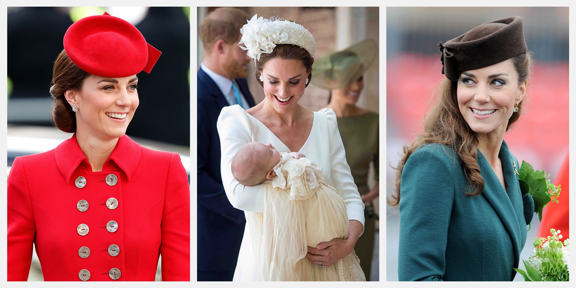 80b4d7e84bec8 Kate Middleton s Most Stylish Hat Moments - Kate Middleton s Best Hair  Accessories