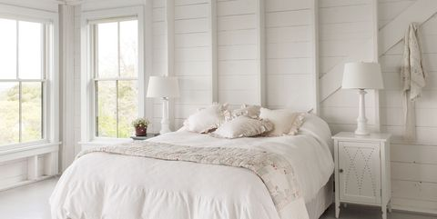 Bedroom, Bed, Furniture, Room, White, Bed frame, Property, Interior design, Bedding, Canopy bed,